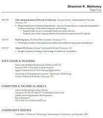 Example Of Resume With No Experience by Example Student Resume Examples Of Resume For College Students