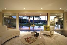 modern living room with hardwood floors in studio city ca