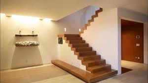 wooden floating staircase layouts youtube