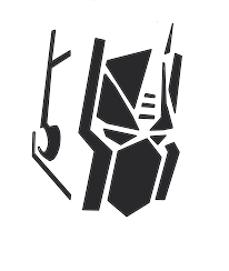 2d artwork optimus prime pumpkin stencil tfw2005 the 2005