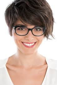 short hairstyles for women over 40 with glasses hairstyle foк