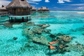 tikehau pearl beach resort french polynesia bagno bungalow
