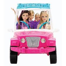 jeep barbie barbie sisters safari cruiser toys