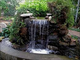 Backyard Waterfall Diy Garden Waterfalls Bless My Weeds