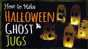 easy halloween kids craft u2013 how to make ghost jugs u2013 diy party