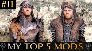 best hair mod for skyrim skyrim special edition my top 5 mods 11 pc xbox one