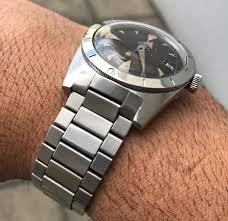 omega link bracelet images Fs flat link 1960s bracelets for divers will take omega ends jpg