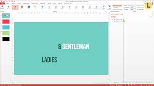kinetic typography in powerpoint make an animation video
