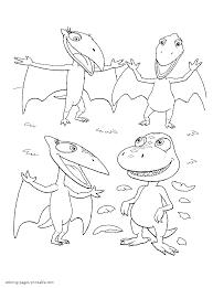 newborn dinosaur and his happy family