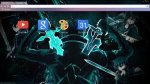 theme google chrome sword art online sword art online chrome themes themebeta
