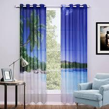 bedroom window curtains sunnyrain 2 piece 3d curtains for bedroom window curtain sheer