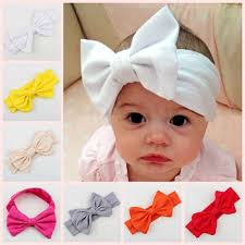 bando headbands baby girl headwraps cut headband knotted headband newborn baby