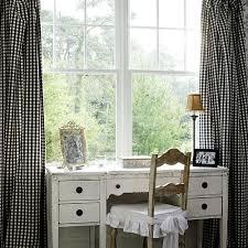 Black Gingham Curtains Curtains 101 Gingham Curtains Window And Charcoal Walls