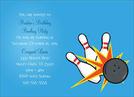 free printable bowling party invitation templates free download