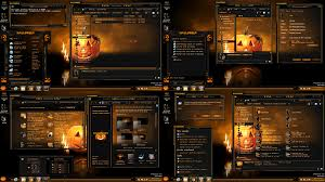space themes for windows 8 1 windows 8 1 theme halloween update by tono3022 on deviantart