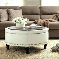 round leather tufted ottoman circular leather ottoman image 4 vintage round leather ottoman white
