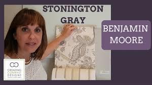 Stonington Gray Benjamin Moore Benjamin Moore Paint Colour Stonington Gray Youtube