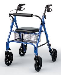 senior walkers with seat wheelchair assistance rolling rollator walker