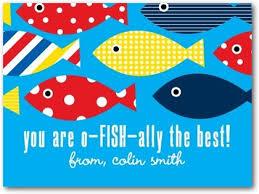 fish valentines fish tastic friend s day cards for kids in bora bora