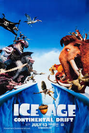 ice age continental drift advance poster