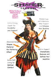 trendy halloween costumes pirate body shaper womens costume