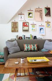 hang pictures without frames 5 creative ways to hang artwork without a frame at home in love