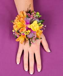 where to buy corsages for prom springtime sunset prom corsage in lloydminster ab of flowers