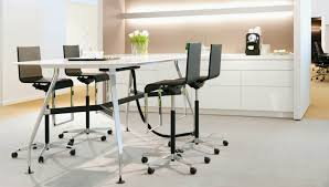 Office Furniture Table Meeting Vitra Vitra Ad Hoc Solitaires High Meeting Table Rectangular