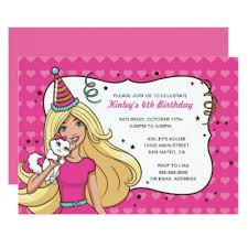 barbie birthday card zazzle com