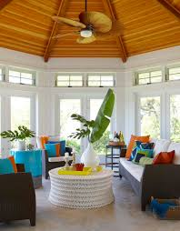 tropical colors for home interior sunroom design trends and tips freshome