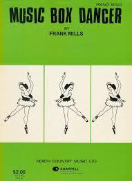 box frank mills box dancer frank mills piano sheet 5 00