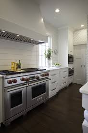 shiplap kitchen backsplash with cabinets my backsplash choice from thrifty decor