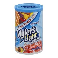 wyler s light singles to go nutritional information wyler s light sugar free low calorie soft drink mix fruit punch