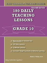 ultimate series grade 10 easy grammar systems