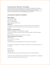 Resume Objective Examples For Construction by Ironworker Resume Free Resume Example And Writing Download