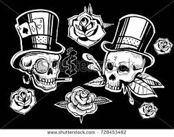 skull rose stock images royalty free images u0026 vectors shutterstock