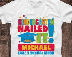 kindergarten graduation gift items similar to pre k graduation shirt pre kindergarten
