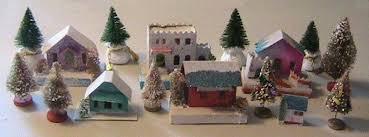christmas houses cardboard christmas history