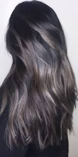 silver brown hair dark brunette with iccccceeee oh so cool color by jimmy hilton