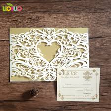 Event Invitation Card Aliexpress Com Buy Sample Laser Cut Creative Wedding Party Event
