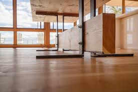 Laminate Flooring In Canada The Beach House On A River S Shore In Canada