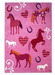 tapis pour chambre de fille tapis pour chambre de fille cheval de la collection unamourdetapis