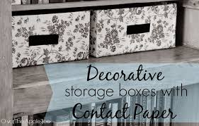 where to buy decorative contact paper the apple tree decorative storage boxes with contact paper