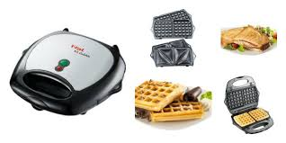 t fal sandwich and waffle maker