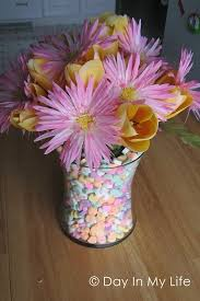 Candy Vases Centerpieces Diy Home Decor Ideas For Valentine U0027s Day U2013 Cute Diy Projects