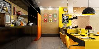 kitchen yellow nice orange kitchen color palette nice black panel
