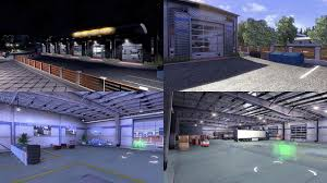 custom large garage type b ets2 mods