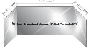 plaque inox cuisine superb une credence de cuisine 14 cr233dence en inox et