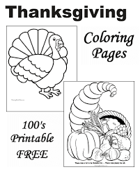 thanksgiving coloring pictures free and printable