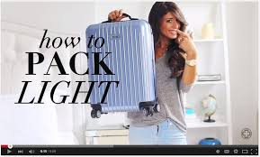 How To Travel Light How To Pack Light Packing Tips For The Smart Traveler 30 Day